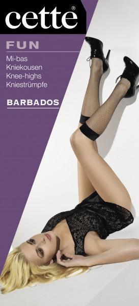 Cette Barbados - Classic fishnet knee highs