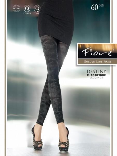 Fiore - Opaque patterned leggings Destiny 60 DEN
