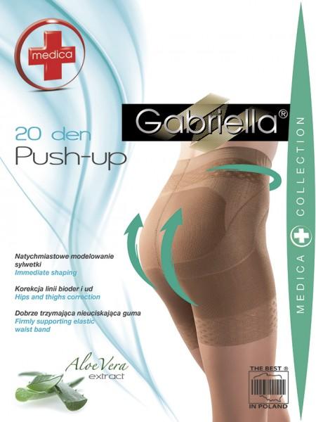 Gabriella - Bum shaping tights Push Up, 20 DEN