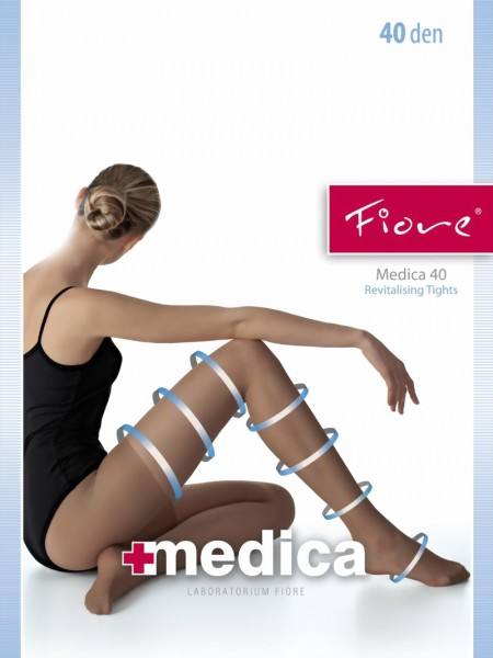 Fiore - Anti cellulite tights Medica 40 denier