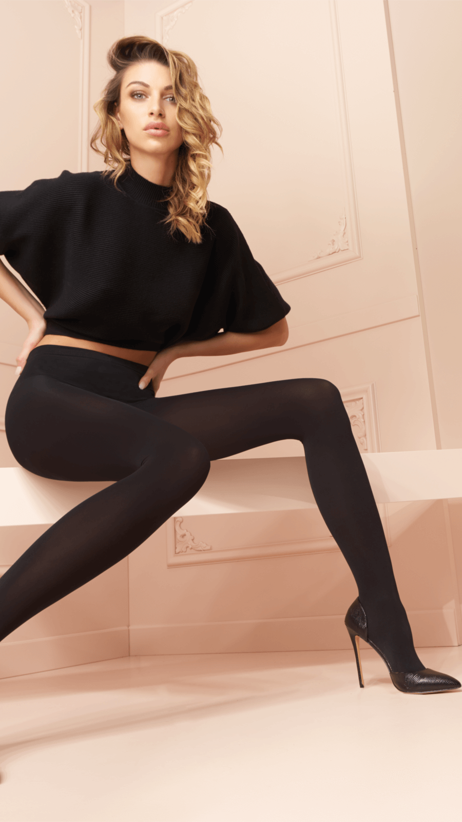 You will be sure to find tights, fishnets and hosiery in the perfect selection of colors to match any outfit or occasion. We Love Colors also offers Leotards, Unitards and other Dancewear in impossible to find colors!From Kids Tights to Plus Size Tights and even Patterned Tights, We Love Colors has it all!