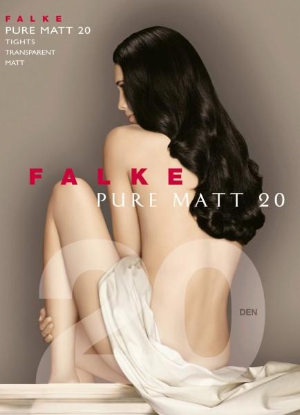 FALKE Pure Matt 20 - Sheer-to-waist tights with a matt finish