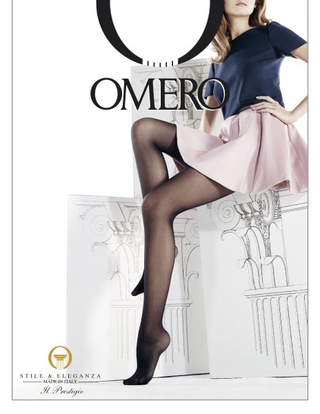 Omero Iride - 30 denier semi-sheer microfiber tights