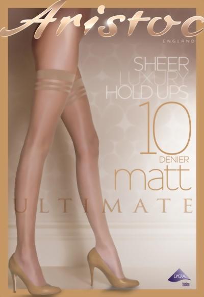 df37b80831712 Aristoc - 10 denier Ultimate Matt Hold Ups ✅