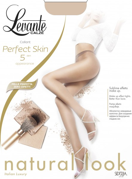 Levante Perfect Skin - 5 denier bare leg look summer tights