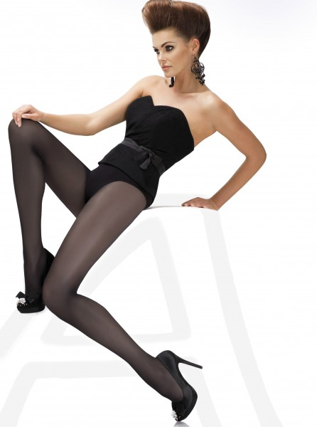 Annes - 40 denier classic, semi-opaque tights Roberta