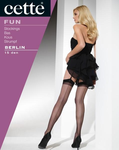 Cette - Timeless elegant back seam nylon stockings Berlin