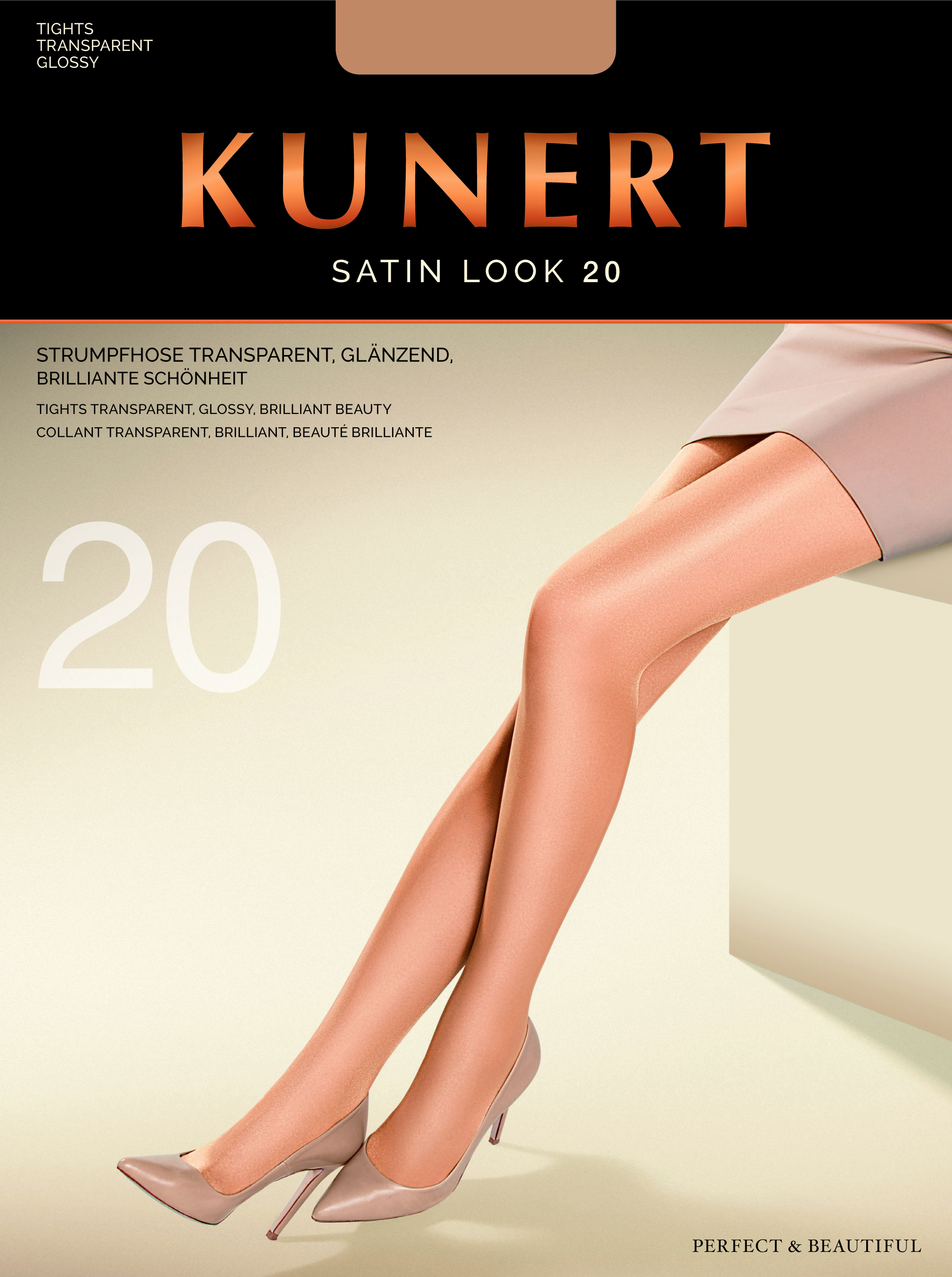 fad6e1682 Kunert Satin Look 20 - Elegant glossy tights   9989