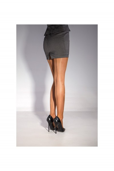 Cecilia de Rafael Sevilla Chic - Gloss backseam tights