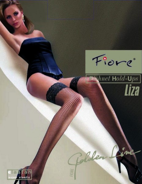Fiore - Fishnet hold ups Liza
