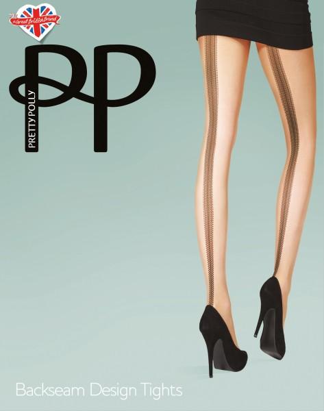 Pretty Polly - Backseam Design Tights