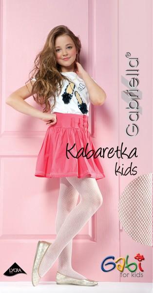 Gabriella - Elegant children's fishnet tights