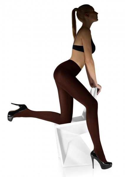 Marilyn - Warm and soft tights with fleece lining 200 den
