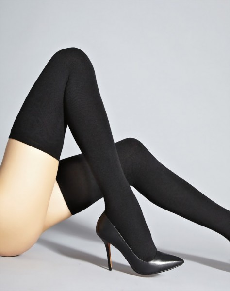 Samburu - Warm opaque hold ups Ubeda 190 denier