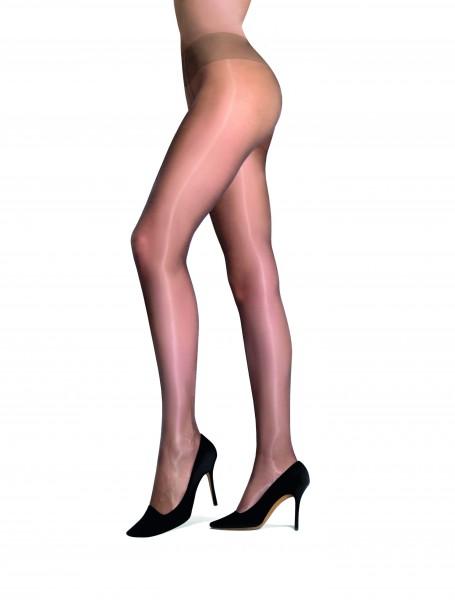 Cecilia de Rafael Eterno Superlucido Comfort - Super shiny tights with wide ultra flat waistband