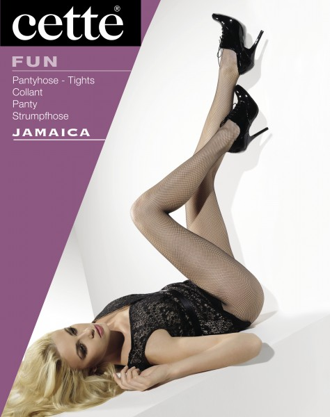 Cette Jamaica - Classic fishnet tights