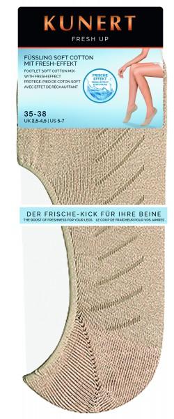 Kunert - Classic shoe liner with cotton Fresh up