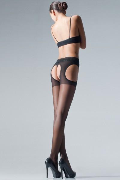Cecilia de Rafael - Sheer strip panty with beautiful lace top Chariss