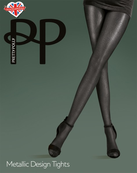 Pretty Polly - Metallic Design Tights