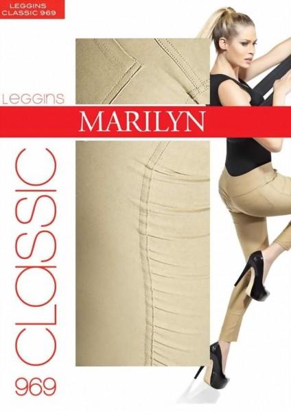 Marilyn - Cotton treggings Classic, 100 DEN