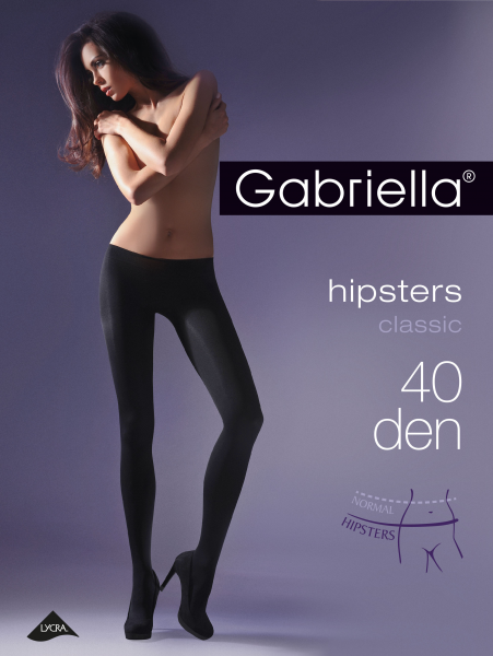 Gabriella - Hipster tights Hipsters 40 DEN