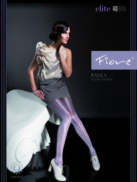Fiore - Elegant glossy tights Raula 40 denier