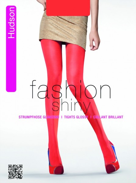 dab7636df Hudson - Opaque glossy tights in trendy colors Glossy Glimmer   9989