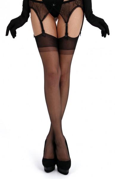 Cecilia de Rafael - 20 denier timeless elegant sheer nylon stockings Barbara