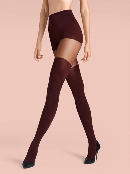 Claudia Schiffer Legs No. 6 KUNERT de Luxe - Mock Over The Knee tights