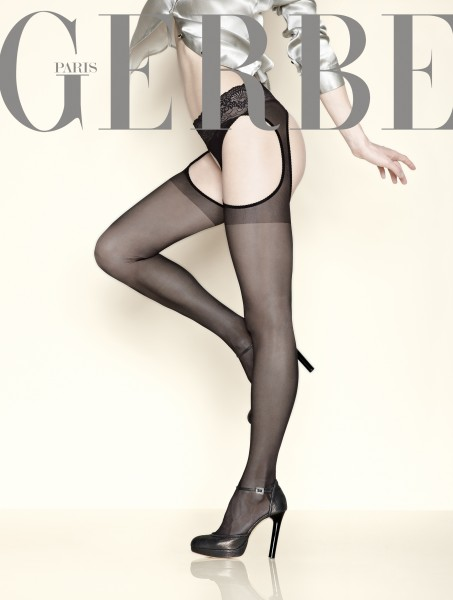 Gerbe - Sensuous Strip Panty with lace waistband Foly