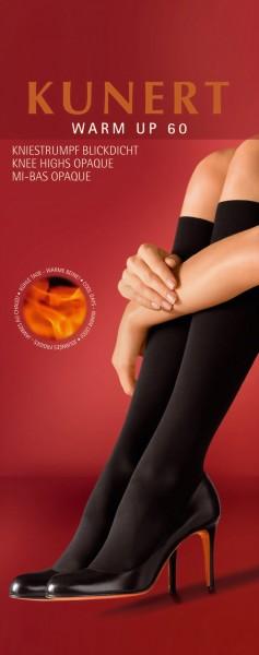 Kunert - Opaque winter knee highs Warm Up 60