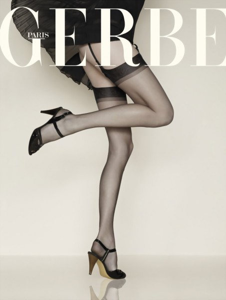 Gerbe - Voile stockings without elastane, 7 den