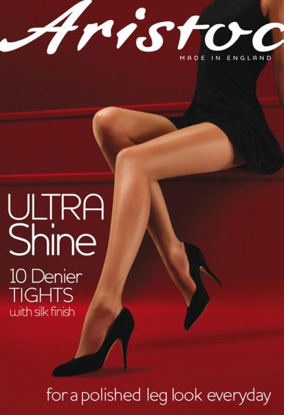 Aristoc - Ultra Shine 10 denier tights with silk finish