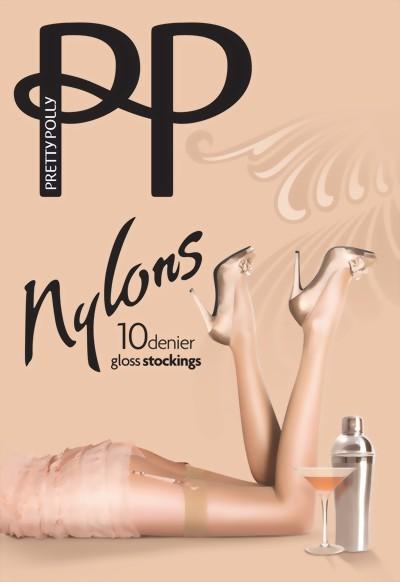 Pretty Polly - Nylons 10 denier gloss stockings