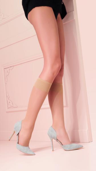 Trasparenze Grazia - 15 denier classic knee highs with comfort top