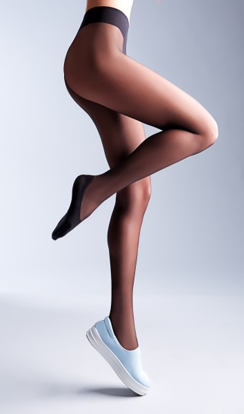 GIULIA - Sheer tights with cotton soles